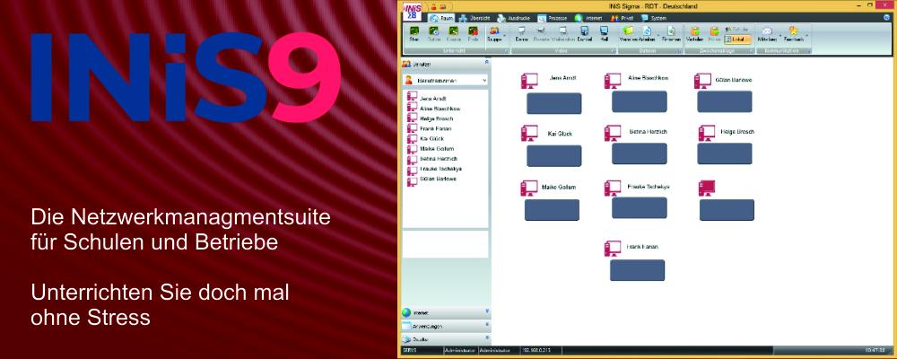 INiS - Didaktische Netzwerksuite für Schulen